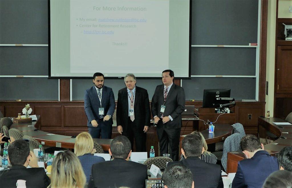 Wagner Balera palestra em simpósio sobre seguridade social na Universidade de Harvard (EUA)