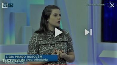 Rádios CBN e Paiquerê Londrina e TV Tarobá entrevistam tributarista do BBM